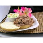 Kalua Pig in a Slow Cooker - Slow-cooker pork butt roast with delicious smoky taste.