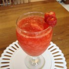 Virgin Strawberry Daiquiri - This drink is probably the best drink I have ever had in my life! You make it with strawberries, sugar, lemon juice, ice, and lemon-lime soda. You can substitute red cream soda or your favorite flavor for the lemon-lime.