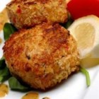 Chef John's Crab Cakes - These crispy fried crab cakes are packed with sweet tender crabmeat. Enjoy with lemon wedges or tartar sauce.