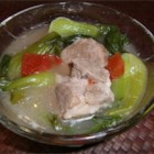 Pork Sinigang - Tangy tamarind is the base in this traditional Filipino pork broth.
