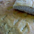 Finnish-American Flatbread - A very delicious Finnish flatbread made with wheat and rye flours. Cream of rye cereal can be used in place of the rye flour if coarse ground is not available.