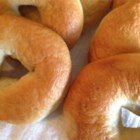 Boiled Bagels - Boiling (before baking) makes an excellent batch of plain bagels that you can simply enhance with sesame seeds or onion.
