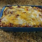Sloppy Joe Mac and Cheese - Two classic comfort foods combined to make one hearty and very satisfying casserole.