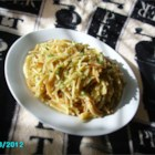 Broken Spaghetti Risotto - This unique spaghetti dish is made risotto style: toasting the pasta to a delicious nut-brown and adding flavorful broth in increments.