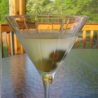 Shaggy's Perfect Martini - Vermouth and gin shaken to pure perfection in classic style, garnished with the favorite martini mate - pimento-stuffed green olives.