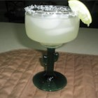 Margarita On The Rocks - A tasty margarita with an upscale flavor has a secret ingredient -- lemon-lime soda.