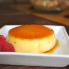 Flan II - Caramelized sugar, milk and eggs -- a sweet and simple baked custard.