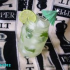 Sugar-Free Mojito Punch - Lime and fresh mint give this pretty green non-alcoholic punch a mojito flavor. It's made with diet soda and sugar substitute so it's perfect for people trying to avoid too much sugar.