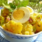 Old Fashioned Potato Salad - This is potato salad the old fashioned way - with eggs, celery and relish.