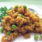 Curried Quinoa - A light curry flavor makes delicious quinoa a great side dish for a multitude of main courses.