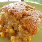 Snacks' Crazy Sweet Corn Pudding - Loaded with whole corn kernels, this sweet and savory side dish will have holiday guests begging for more! Cornbread never tasted so good!