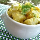 Pressure Cooker Potato Salad - Using your pressure cooker, this classic potato salad is ready to chill in the refrigerator in less than half an hour.