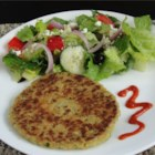 Pan-Fried Falafel - These falafels are flavored with a nice variety of spices and pan-fried until golden brown.