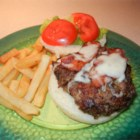 Meat Lover's Burger - These open-face burgers are zesty and full of flavor combining mushrooms, bacon, and balsamic vinegar with ground beef. My boyfriend is an Italian chef and a meat lover, and he was taken away by the taste!