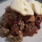 Photo of: Apple-Cranberry Crisp - Recipe of the Day