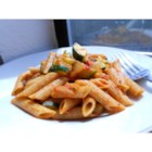Pasta Pizzaz - Farfalle pasta tossed with sauteed onions, fragrant garlic, zucchini, mushrooms and fresh tomato.