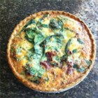 Easy Quiche - This is an easy mix-it-up-in-one-bowl-and-cook recipe. I make it for every brunch I attend. You may substitute chopped spinach for the broccoli if you wish.