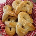 Baked Pretzels - Use your bread machine to make baked pretzels at home.  Beer in the batter makes them especially delicious!