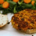 Carrot Burgers - This wonderful meatless dish is quite tasty, and a great alternative to beef burgers when served on a bun with tomato and lettuce with mayo or stone ground mustard.  Good served hot or cold. We have used these as main entrees or served a smaller version as side dishes.  You may want to experiment with different spices that appeal to your family or even different vegetables such as zucchini. Cheese is another tasty add-in.