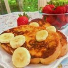 Easy Pina Colada French Toast - Using a pineapple-coconut drink mix is an easy way to give your french toast a Caribbean flavor.
