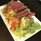 Slow-Cooker Corned Beef and Cabbage   - Slow cook your St. Patrick's Day corned beef dinner, and celebrate the easy way.