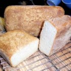 English Muffin Loaves - This is an easy yeast bread--no kneading required!  The texture is like English muffins, great for toasting.