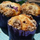 Mango Blueberry Muffins With Coconut Streusel - These moist and delicious muffins lend a tropical flair to your breakfast table.