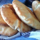 Peppy's Pita Bread - Easy to make pita style bread.