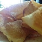 Sopapillas - This is a flat bread that is easy to prepare, and is usually served with something sweet to put on top, like honey or cinnamon-sugar.