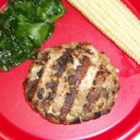 Photo of: Mushroom Blue Cheese Turkey Burgers - Recipe of the Day