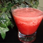 Cool Watermelon Slushes - A Thailand watermelon slushie that is sweetened with honey. You may use sugar if you wish though.