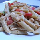 Tuna and Noodle Salad Light - A refreshing pasta salad with bits of tuna throughout. And because it doesn't have any mayonnaise, it's perfect to take on a picnic.