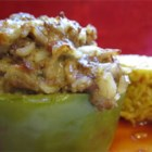 Chef John's Stuffed Peppers - Stuff green bell peppers with a mixture of rice, ground beef and pork sausage for a simple and satisfying supper.