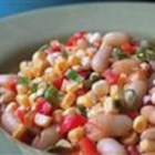 Sufferin' Succotash Salad - A sweet corn succotash salad with a tangy barbeque vinaigrette: the perfect side dish for a picnic.
