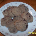Blueberry Almond Cookies - This is a fabulous blue cookie! It is a great treat for an Independence Day celebration! I have just been here in America for 7 months and this is my first baking invention.