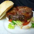 Bacon Wrapped Hamburgers - This is great!  The bacon makes the hamburgers so tender!