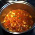 Summer Vegetarian Chili