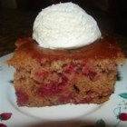 Cherry Nut Cake I - An easy cherry dump cake. Quick and good!