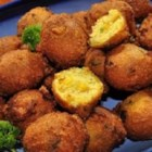 Hush Puppies - These hush puppies are made from a simple batter with a hint of celery and garlic. They are quick and easy and ready in less than 30 minutes.