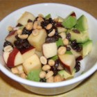 Alligator Pears and Apples - This is a good salad made with avocado and apple that is unexpected but delicious.