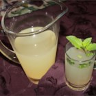 Meyer Lemonade with Mint - This refreshing beverage is great for warm summer days.