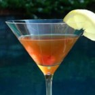 Manhattan Honeymoon - A traditional Manhattan gets shaken with honey and lemon for a sweet twist.