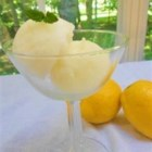 Lemon Sorbet - Lovely Lemon Sorbet to cleanse your palate after a meal!