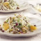 Fennel and Orange Salad - This simple and delicious salad combines crisp fresh fennel, oranges, and peppery arugula in a poppyseed dressing.