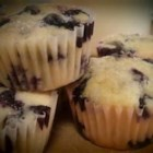 Alice's Easy Blueberry Cake - Fresh blueberries are folded into a made-from-scratch batter and baked to a golden brown. Melted butter and a sprinkling of sugar add a finishing glaze.