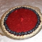 Deep Dish Strawberry Pie - Paint a baked pie crust with melted chocolate and freeze before spooning in a strawberry-ginger ale filling. It is a perfect addition to summer festivities.