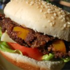 Black Bean Burgers - These black bean burgers feature the flavors of cumin, chili powder, garlic, liquid smoke flavoring, and ranch dressing mix.