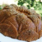 Orange Nut Raisin Cake - An orangey, nutty cake that makes a great snack.