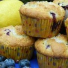 Chef John's Blueberry Muffins - A perfect blueberry muffin made with sour cream and extra blueberries. Great served slightly warm.