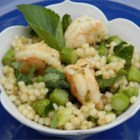 Couscous Primavera - Combine couscous with fresh asparagus, green peas, and mint to create a light, delicious springtime side dish.